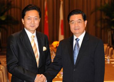 日本新首相接受专访 称以友爱精神发展中日关系