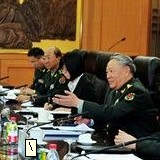 陳炳德與奧地利軍隊總參謀長會談
