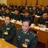 解放军代表团举行第二次全体会议 李继耐主持