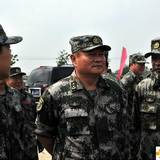 沈阳军区司令员张又侠看望参演部队官兵