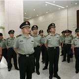 沈阳军区司令员张又俠参观井冈山革命博物馆