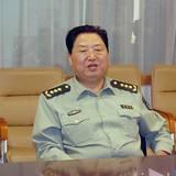 北京军区政委符廷贵来太钢视察民兵预备役工作