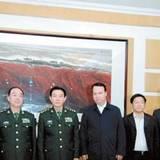 蘭州軍區政委李長才調研省軍區
