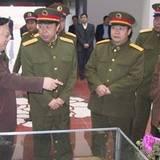 济南军区司令员范长龙来菏泽调研