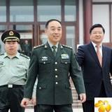 成都军区政委田修思到广安视察