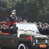 图文:海军司令员吴胜利检阅海工大学员
