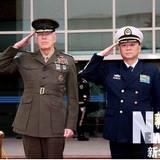 中国海军司令员吴胜利上将会见美印海军领导人