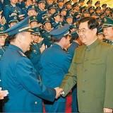 靖志遠參加空軍第十一次黨代會