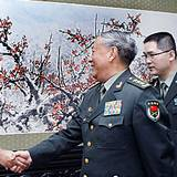 陳炳德會見聯合國維和教官國際培訓班人員