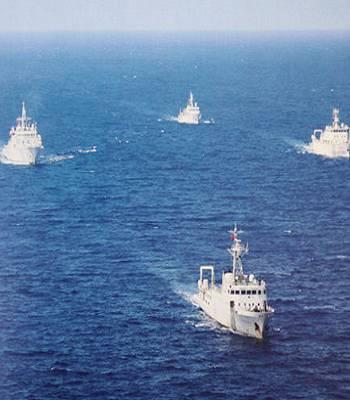 海洋权益争端新变化 中国海监将增近百艘船艇