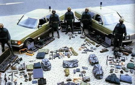 80年代建成的德国GSG9特种部队