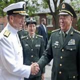 陳炳德與美軍參聯會主席馬倫舉行會談