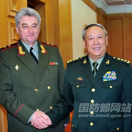 陳炳德會見俄軍副總長