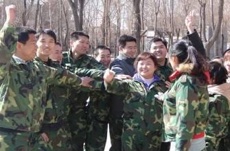 北京怀柔区组织青年后备人才集体进行拓展训练