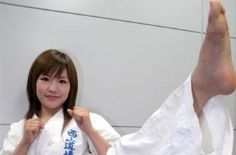日本超萌空手道美女:小林由佳清纯惹人爱